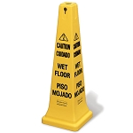 Rubbermaid Commercial 627677 Safety Cone w/ Multi-Lingual