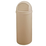 Rubbermaid Commercial 8160-88 BEI 15 Gallon Marshal® Classic Container Beige