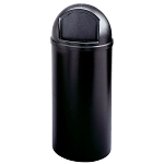 Rubbermaid Commercial 8160-88 BLA 15 Gallon Marshal® Classic Container Black