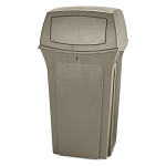 Rubbermaid Commercial 8430-88 BEI 35 Gallon Ranger® Container Beige