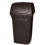 Rubbermaid Commercial 8430-88 BRO 35 Gallon Ranger® Container Brown