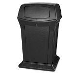 Rubbermaid Commercial 9171-88 BLA 45 Gallon Ranger® Container w/ 2 Doors Black
