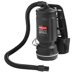 Rubbermaid Executive Series 1868433 6 Qt. Backpack Vacuum Cleaner Black