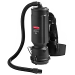 Rubbermaid Executive Series 1868435 10 Qt. Hepa Backpack Vacuum Cleaner Black