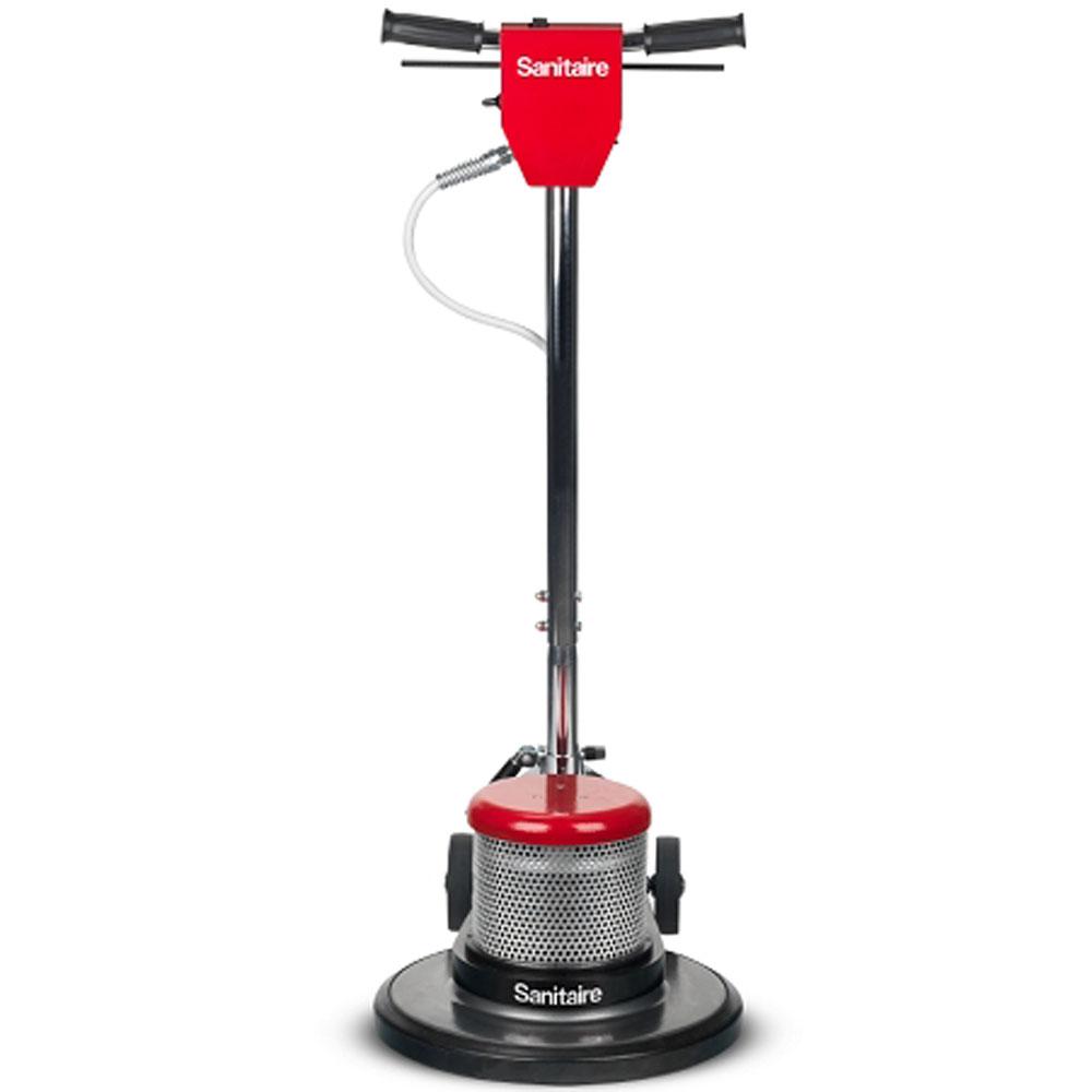 Sanitaire sc6030d 17 dual speed commercial floor machine for 17 floor buffer