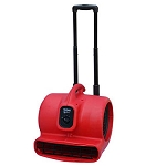 Sanitaire SC6054A High Velocity Air Mover w/ Telescopic Handle & Wheels 0.5 HP 3 Levels of Air Speeds 25' Cord