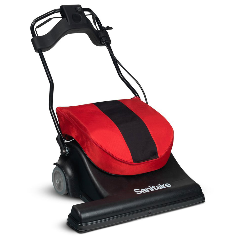 Sanitaire Sc6093a 28 Wide Area Motorized Sweeper Vacuum