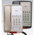 Scitec Aegis 08 Series 5S-08 Analog Single Line Speakerphone w/ 5 Guest Service Keys & Message Retrieval Lightbar Black or Ash 12 Per Case Price Per Each