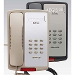 Scitec Aegis 08 Series P-08 Analog Single Line Phone w/ Basic Features Black or Ash 12 Per Case Price Per Each