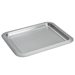 Steeltek® Barware Rectangular Serving Tray Brushed Finish 24 Per Case Price Per Each