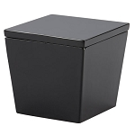 Steeltek® Spa Black Cotton Container 24 Per Case Price Per Each