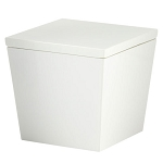 Steeltek® Spa White Cotton Container 24 Per Case Price Per Each