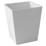 Steeltek® Spa White 6 Qt. Wastebasket 6 Per Case Price Per Each
