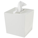 Steeltek® Spa White Boutique Tissue Box Cover 6 Per Case Price Per Each