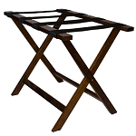 Styles Solid Hardwood Luggage Rack Walnut 3 Per Case Price Per Case