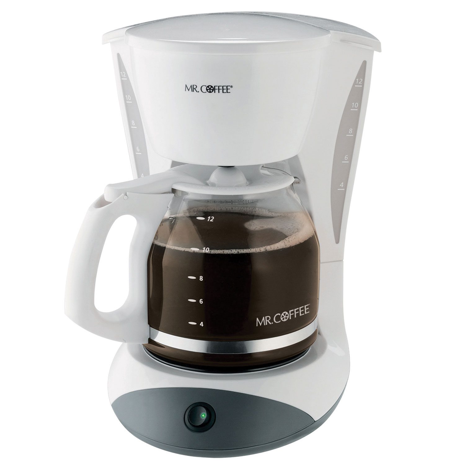 Sunbeam Coffee Maker Auto Shut Off : Sunbeam DWA12-NP Mr. Coffee 12 Cup Coffee Maker 2 Hour Auto Off Pause N Serve White 2 Per ...