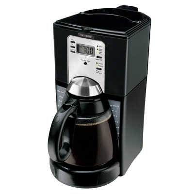 Home Sunbeam Coffee Makers Ftx41rb Mr 12 Cup Maker Pause N Serve Black Chrome 2 Per Case Price Each