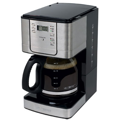 Sunbeam Coffee Maker Auto Shut Off : Sunbeam JWX31-RB Mr Coffee 12 Cup Coffee Maker Pause n Serve Black w/ Chrome 2 Per Case Price ...