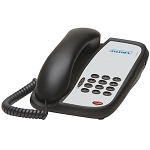 Teledex I Series A100 Analog Single Line Phone For Lobby Areas Black or Ash 10 Per Case Price Per Each