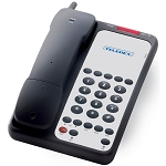 Teledex Opal Series DCT1905 Analog DECT Cordless Phone w/ 5 Guest Service Keys Black or Ash 10 Per Case Price Per Each