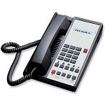 Teledex Diamond +S-5 Series Analog Single Line Speakerphone w/ 5 Guest Service Keys Black or Ash 10 Per Case Price Per Each