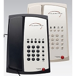Telematrix 3100 Series 3100MW5 Analog Single Line Phone w/ 5 Guest Service Keys & One Touch Message Retrieval Black or Ash 10 Per Case Price Per Each