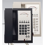 Telematrix 3300 Series 3300MWD5 Analog Single Line Speakerphone w/ 5 Guest Service Keys & One Touch Message Retrieval Black or Ash 10 Per Case Price Per Each