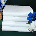 Thomaston Mills T-200 Pillowcase Standard 42x34 60% Cotton 40% Polyester White 6 Dz Per Case Price Per Dz
