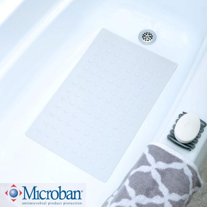 Home U003e SlipX Solutions U003e Safety Rubber Bath Mats With Microban U003e Medium  Rubber Safety Bath Mat With Microban U003e Slip X Medium Safety Rubber Bath Mat  W/ ...