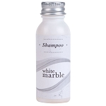 White Marble Breck Shampoo Bottle 0.75 Oz. 288 Per Case