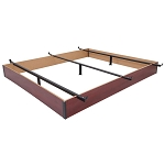 Wehsco Wood Bed Base w/ 3 Cross Supports Twin 6