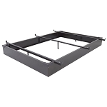 Wehsco Inter-Lock Metal Bed Base w/ 3 Cross Supports Twin 6