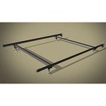 Wehsco Sealy Posturepedic Premium Bed Frame w/ 4 Legs & Steel Stem Glides Twin 1¾
