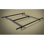 Wehsco Sealy Posturepedic Premium Bed Frame w/ 6 Legs & Steel Stem Glides Full 1¾