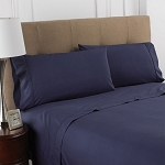 Martex Colors T-200 Pillowcase Standard 44x36 60% Cotton 40% Polyester Navy 4 Dz Per Case Price Per Dz