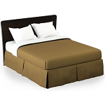 Martex Rx Solid Gold Bed Skirt Twin XL 39x80x15 Poly/Cotton 1 Dz Per Case Price Per Each