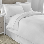 Martex Five Star T-300 Duvet Cover Full/Queen 94x96 100% Cotton White 12 Per Case Price Per Each
