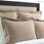 Martex Suites Staybright Swiss Dot Dobby Pillow Shams European 26x26 20 Per Case Price Per Each