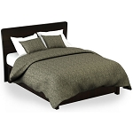 Martex Rx Bennet Pillow Sham Queen 20x30 Poly/Cotton Green Printed Design 2 Dz Per Case Price Per Each