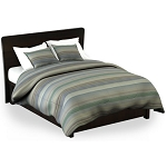 Martex Rx Finley Pillow Sham Standard 20x26 Poly/Cotton Blue Printed Design 2 Dz Per Case Price Per Each