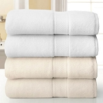Martex Grand Patrician Suites Dobby Border Bath Rug 20x32 100% Ring Spun Cotton White 1 Dz Per Case Price Per Dz