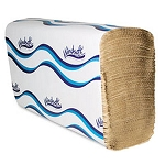 WindSoft 1 Ply Multifold Paper Towels Brown 16 Packs of 250 Towels in Each Case Price Per Case