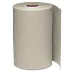 WindSoft 1 Ply Hardwound Paper Towel Rolls 350 Ft Brown 12 Rolls Per Case Price Per Case