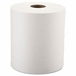 WindSoft 1 Ply Hardwound Paper Towel Rolls 800 Ft White 12 Rolls Per Case Price Per Case