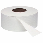 WindSoft 1 Ply Jumbo Toilet Paper Rolls 2000 Ft White 12 Rolls Per Case Price Per Case