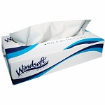 WindSoft 2 Ply Premium Tissue Paper White 30 Boxes of 100 Tissues in Each Case Price Per Case
