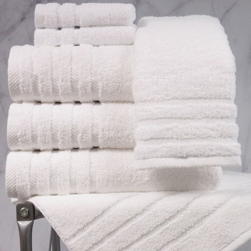 1888 Mills® Naked Collection Loops Bath Towel, 30X56 Inch