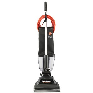 "Hoover C1433-010 Guardsman Industrial Bagless Upright Vacuum w/ 12"" Cleaning Path"