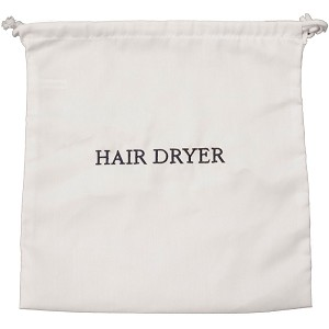 Hospitality 1 Source Hair Dryer Bag W White Navy Embroidery 100 Per Case Price Each