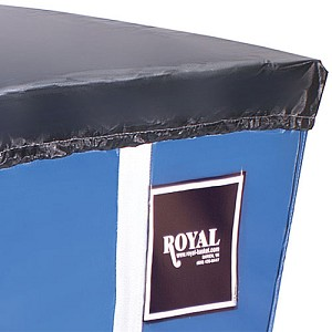 Royal Basket 8 Bushel Black Vinyl Cart Cover